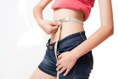dieta napad dostaje zdrowego kształt Fotografia Royalty Free