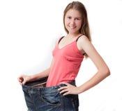 dieta napad dostaje zdrowego kształt Zdjęcia Stock