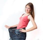 dieta napad dostaje zdrowego kształt Zdjęcie Royalty Free