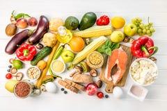 Dieta nutriente organica sana Fotografie Stock Libere da Diritti