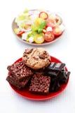 Dieta ou não Imagens de Stock Royalty Free