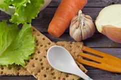 Dieta para una consumición sana Imagen de archivo libre de regalías
