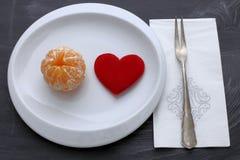 Dieta per il cuore Fotografia Stock