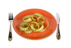 Dieta rigorosa Fotografia Stock Libera da Diritti