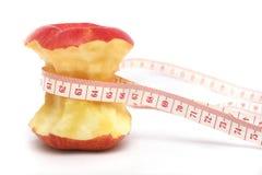 Dieta rossa del Apple Fotografia Stock Libera da Diritti