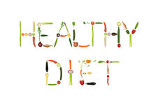 Dieta sana Fotos de archivo