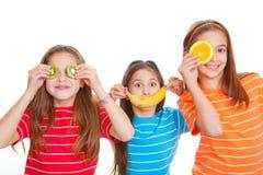 Dieta sana de la fruta Fotografía de archivo libre de regalías