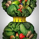 Dieta sana de la pérdida de peso Foto de archivo libre de regalías
