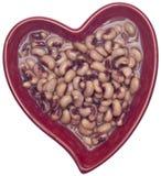 Dieta sana del corazón Foto de archivo libre de regalías