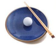 Dieta sana del golf Imagen de archivo libre de regalías