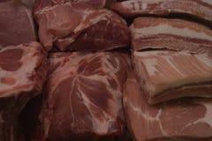 Dieta sana di nutrizione dell'alimento della carne suina Fotografia Stock