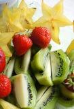 Dieta sana - ensalada de fruta Fotografía de archivo libre de regalías