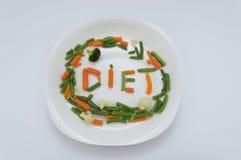 Dieta saudável Foto de Stock Royalty Free