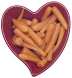 Dieta saudável do coração Fotografia de Stock Royalty Free