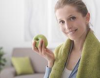 Dieta saudável e aptidão fotografia de stock royalty free