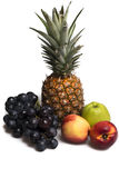 Dieta saudável - frutos frescos fotografia de stock