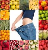 Dieta sliming saudável fotos de stock royalty free