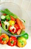 Dieta vegetariana Imagen de archivo
