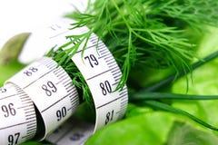 Dieta verde Fotografia Stock