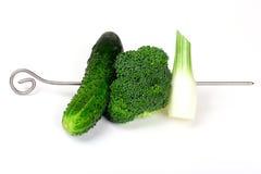 Dieta verde Fotografie Stock