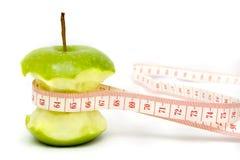 Dieta verde del Apple Fotografie Stock Libere da Diritti