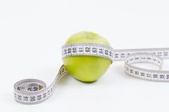 Dieta verde fresca da maçã Fotografia de Stock Royalty Free