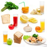 Dietary bioproducts Royalty Free Stock Image
