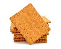 Dietary bran crackers Royalty Free Stock Image