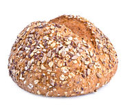 Dietary bread with seeds Stock Images
