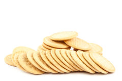 Dietary cookies on white background. Royalty Free Stock Image