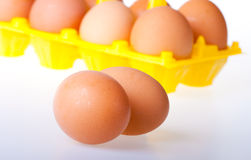 Dietary eggs Royalty Free Stock Photos