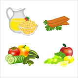 Dietary food Stock Photo