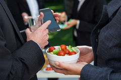 Dietary meal in office Royalty Free Stock Photo