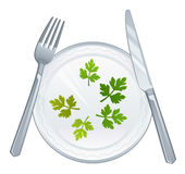 Dietary meal Stock Image
