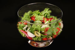 Dietary salad Stock Photo