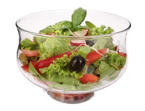 Dietary salad Royalty Free Stock Image