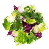 Dietary salad isolated on white background. Studio Photo Stock Photography