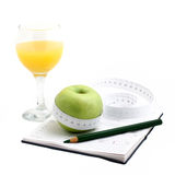 Dietary still life Royalty Free Stock Photography