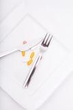 Dietary Supplementation Stock Photo