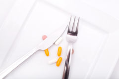 Dietary Supplementation Royalty Free Stock Image