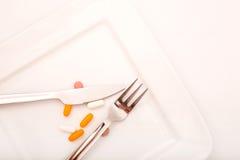 Dietary Supplementation Royalty Free Stock Photos