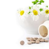 Dietary supplements Stock Photography
