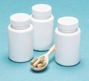 dietary supplements Royaltyfria Bilder