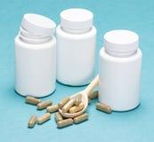 dietary supplements Royaltyfri Foto