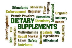 Dietary Supplements Royalty Free Stock Image
