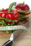 Dietary veggies Arkivfoton