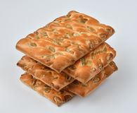 The dietetic biscuits with a sunflower seeds. Dietetic biscuits with a sunflower seeds royalty free stock images