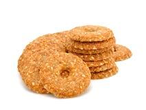 Dietetic cookies Royalty Free Stock Images