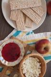 Dietetic crispbread with honey Stock Images