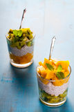 Dietetic dessert. Stock Images